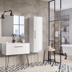 Nowoczesne meble łazienkowe z kolekcji Futuris marki Elita. Fot. Elita