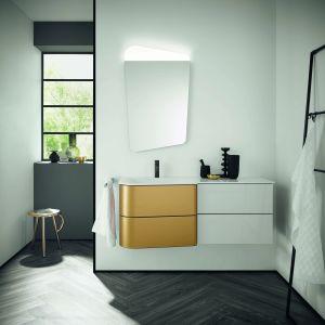 Nowoczesne meble łazienkowe z kolekcji Badu marki Burgbad. Fot. Burgbad