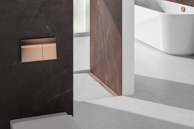Kolor triumfalnie powraca do świata łazienek. Podstawę kolorystyki wnętrza stanowią odcienie bieli, szarości i czerni, natomiast akcesoria sanitarne zyskują oryginalne, wyraziste barwy.