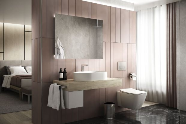 Chociaż zabudowa meblowa na wymiar jest wciąż najpopularniejszym rozwiązaniem do łazienek, oferta gotowych mebli łazienkowych dostępnych na rynku jest coraz szersza, a meble modułowe oferują dużą dowolność w aranżacji łazienek.