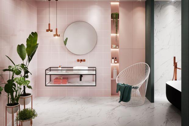 Różowy kolor w łazience? Dlaczego nie! Przedstawiamy trzy kolekcje płytek ceramicznych, które umożliwią wprowadzenie tego słodkiego koloru do wnętrza łazienki.