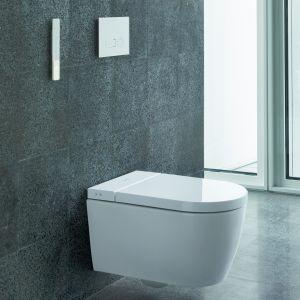 SensoWash® deska sedesowa z funkcją mycia by Philippe Starck. Fot. Duravit