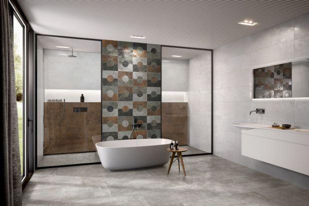 Styl industrialny jest obecnie jednym z najpopularniejszych we wnętrzach, również tych łazienkowych. Zobaczcie nową kolekcję płytek stworzoną z myślą o takiej estetyce.
