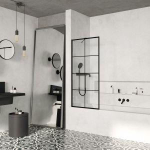 Parawan nawannowy Modo New Black PNJ Factory. Fot. Radaway