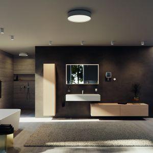 Oświetlenie łazienkowe z serii Royal Midas. Fot. Keuco