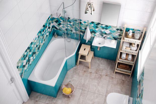 Wanna z parawanem to świetne rozwiązanie do łazienek o ograniczonym metrażu. Zobaczcie propozycje różnych marek.