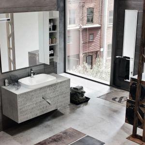 Pomysł na fronty meblowe: meble łazienkowe z kolekcji Vintage marki Ardeco. Fot. Ardeco