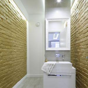 Pomysł na lustro w łazience. Proj. Dominik Respondek. Fot. Bartosz Jarosz