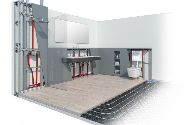 Systemy instalacyjne, chociaż niewidoczne, są niezbędnym elementem wyposażenia łazienki. Dlatego planując remont czy urządzając wnętrze, warto uwzględnić je w projekcie. Dzięki nim pomieszczenie zyska nie tylko na wizualnej atrakcyjności, ale