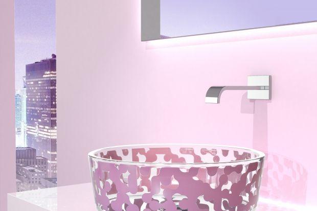 Włoska marka Glass Design specjalizująca się w efektownych, luksusowych produktach do łazienek wykonanych ze szkła, pokazała nową odsłonę kolekcji autorstwa ikony światowego wzornictwa, designera Karima Rashida.