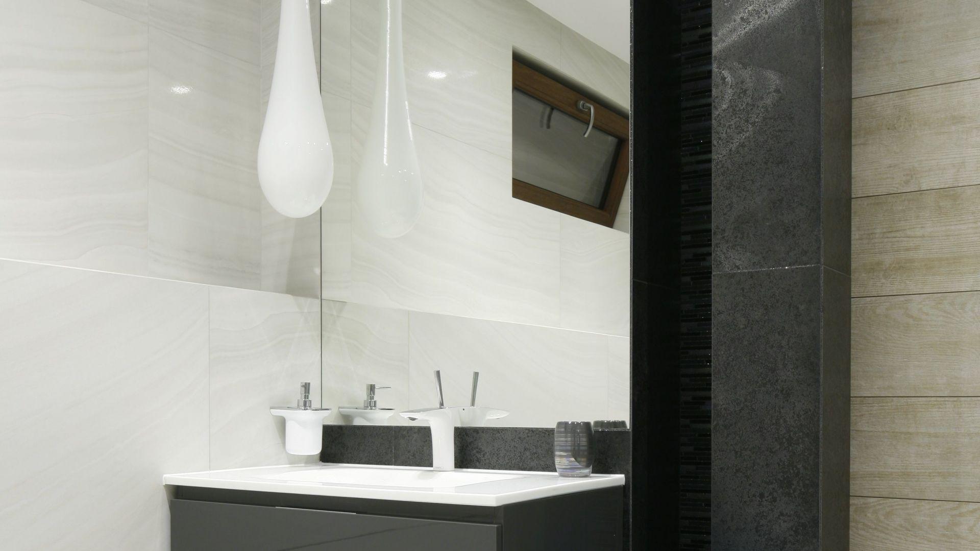 Pomysł na szafkę pod umywalkę. Proj. Marta Kilan. Fot. Bartosz Jarosz