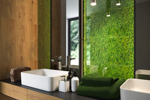 Zieleń i motywy roślinne to nie tylko sposób na modną łazienkę, ale także świetny przepis na ożywienie wnętrza i stworzenie aranżacji sprzyjającej domowemu relaksowi.
