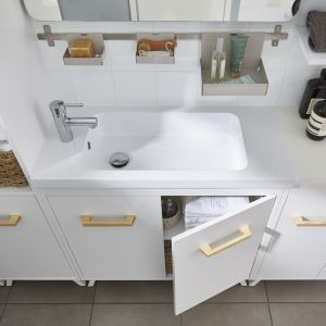 Kolekcja mebli łazienkowych GoodHome Ladoga. Fot. GoodHome/Castorama