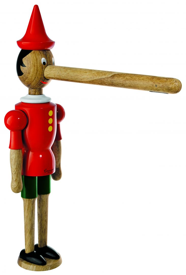 Niezwykła intrygująca bateria Pinocchio Legno marki Emmevi Rubinetterie. Fot. ARMPOL