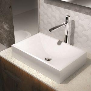 Bateria umywalkowa Ade marki Emmevi Rubinetterie  to minimalistyczny, elegancki design pasujący do nowoczesnych łazienek. Fot. ARMPOL