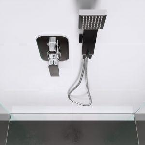 Strefa prysznica z odpływem liniowym Super Slim Pro. Fot. Ferro