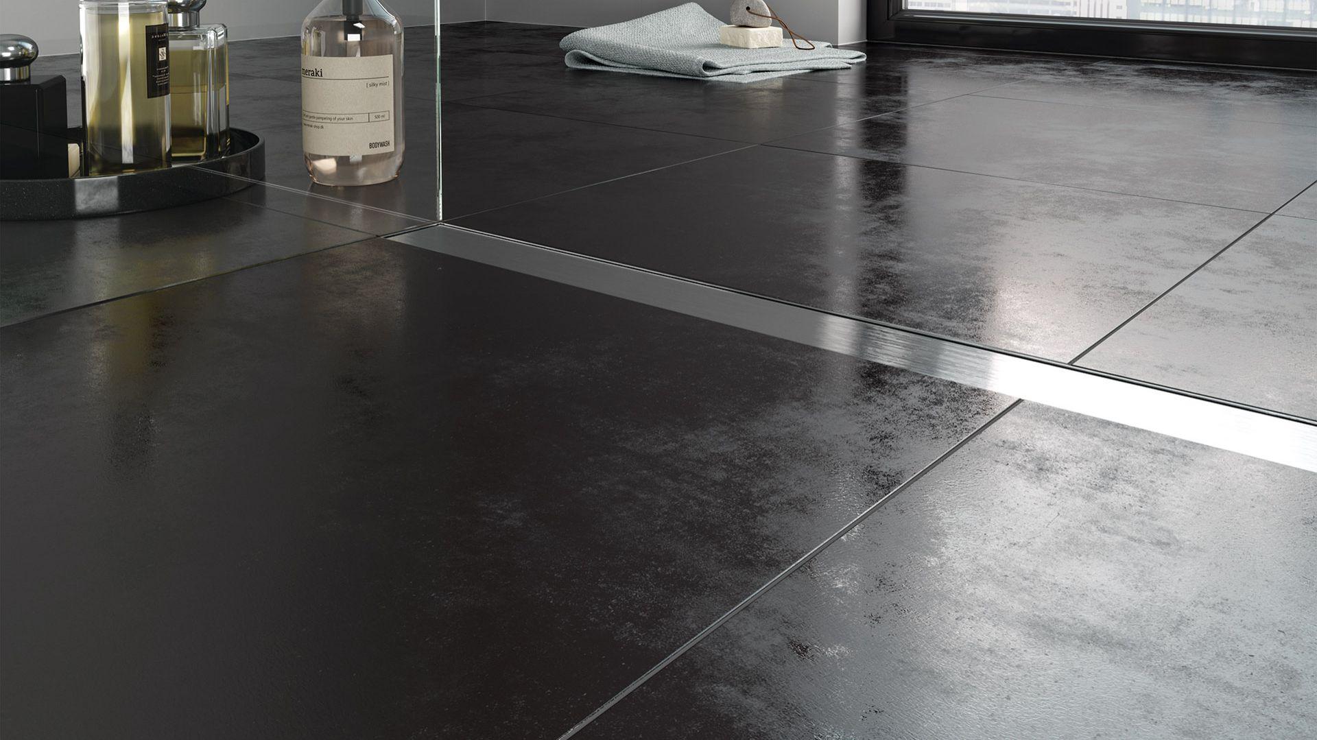 Strefa prysznica z odpływem Super Slim Pro. Fot. Ferro