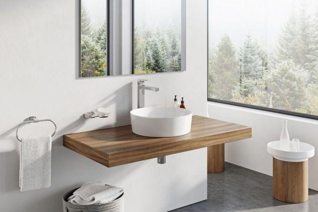 Zaokrąglony, miękki kształt i biała kolorystyka to swoista umywalkowa klasyka. Zobaczcie 5 eleganckich modeli okrągłych nablatowych umywalek.