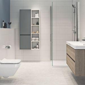 Minimalizm w łazience: kolekcja łazienkowa Crea. Fot. Cersanit