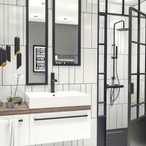Armatura łazienkowe z serii Pretto. Fot. Laveo