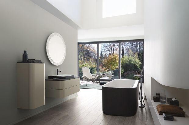 Fronty mebli łazienkowych mogą mieć różne kolory, od których zależeć będzie charakter aranżacji całej łazienki.