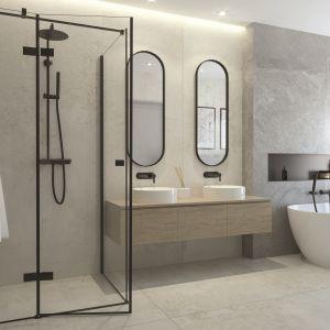 Modna strefa prysznica. Na zdjęciu armatura z serii Arnika marki Deante. Fot. Deante