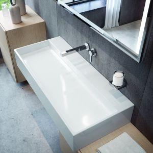 Nowoczesna łazienka: armatura z serii łazienkowej Edition 90. Fot. Keuco