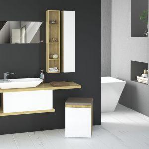 Szafka pod umywalkę z kolekcji mebli łazienkowych Amaro marki Devo. Fot. Devo