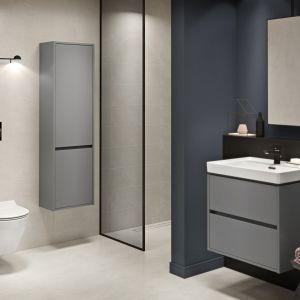 Szafka pod umywalkę z kolekcji mebli łazienkowych Crea marki Cersanit. Fot. Cersanit