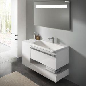 Szafka pod umywalkę z kolekcji mebli łazienkowych Tonic marki Ideal Standard. Fot. Ideal Standard