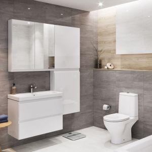 Szafka pod umywalkę z kolekcji mebli łazienkowych Moduo marki Cersanit. Fot. Cersanit
