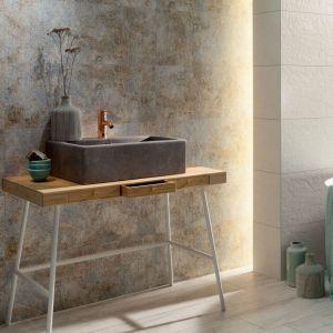 Szare płytki ceramiczne z kolekcji Interval marki Tubądzin. Fot. Tubądzin