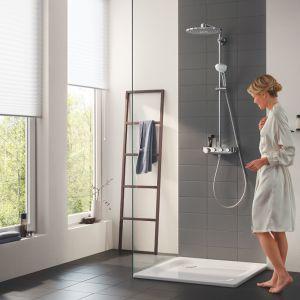 Zestaw prysznicowy z baterią termostatyczną. Fot. Grohe