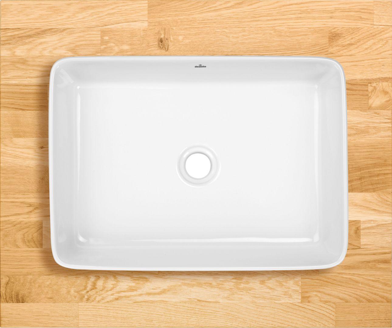 Umywalka stawiana na blacie z kolekcji Hiacynt. Fot. Deante