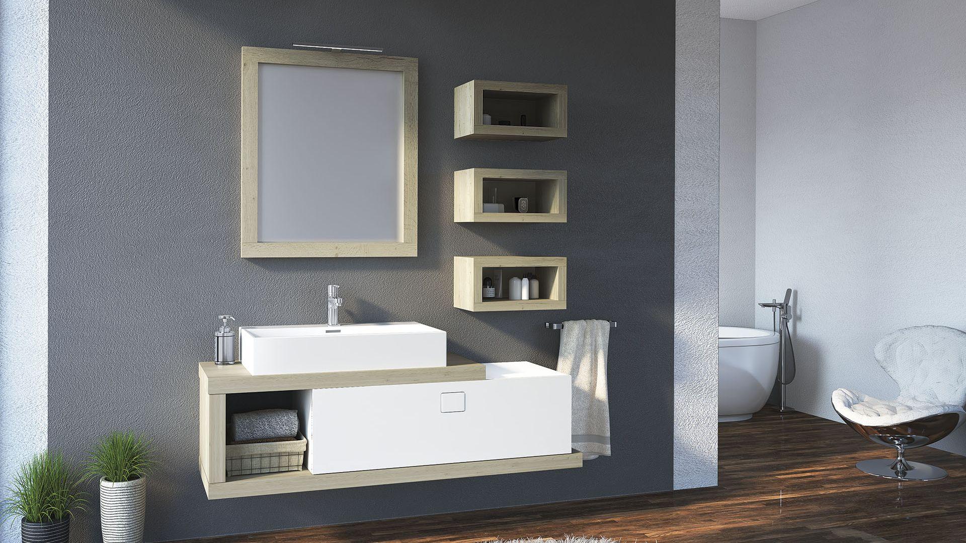 Nowoczesne meble łazienkowe z kolekcji Fifa marki Devo. Fot. Devo