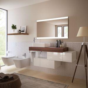 Nowoczesne meble łazienkowe z kolekcji Adapto marki Ideal Standard. Fot. Ideal Standard