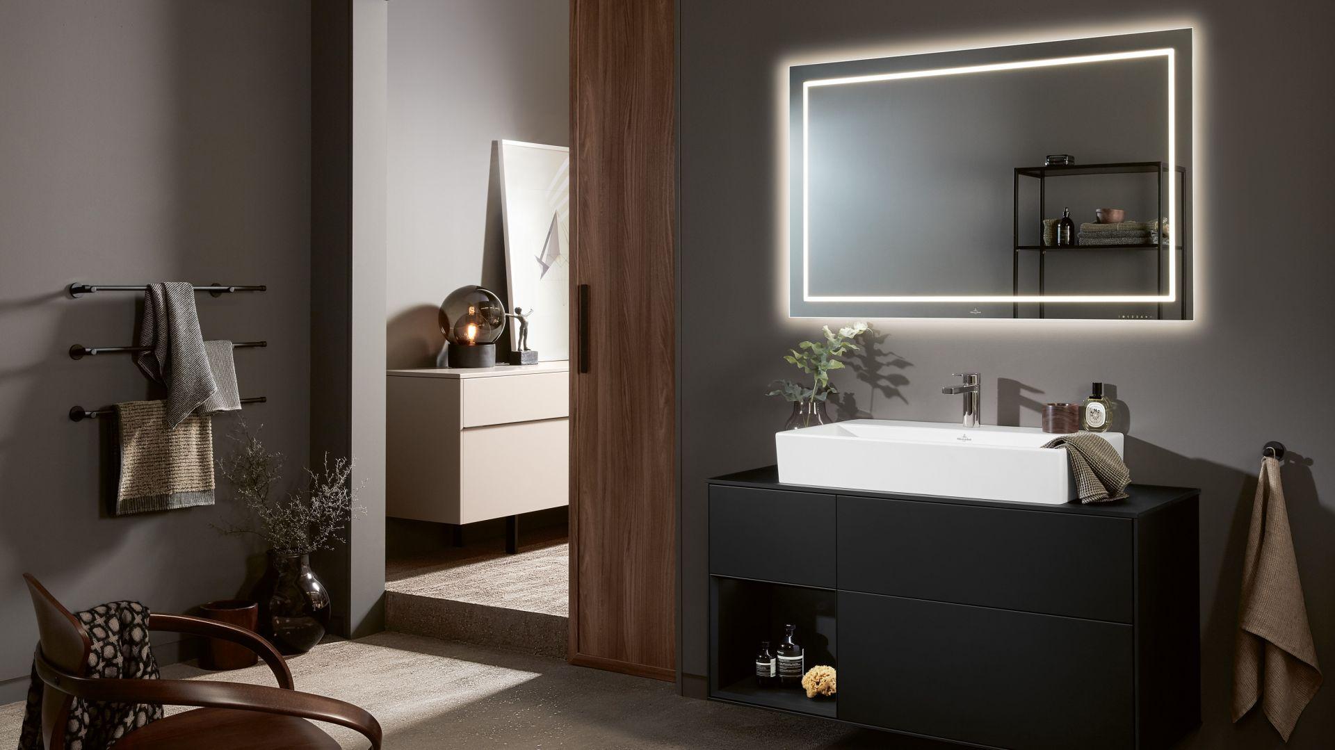 Nowoczesne meble łazienkowe z kolekcji Finion marki Villeroy&Boch. Fot. Villeroy&Boch