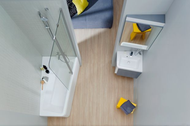 Urządzenie strefy kąpieli w małej łazience nie musi być wyzwaniem. Istnieją rozwiązania dedykowane do takich przestrzeni. Zobaczcie jakie!
