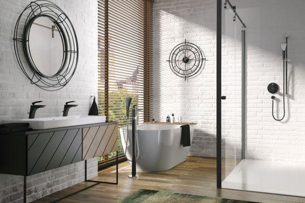 Czerń w łazience to bez wątpienia jeden z głównych trendów aranżacyjnych tego sezonu. Zobaczcie popularną serię baterii w nowej, czarnej odsłonie.