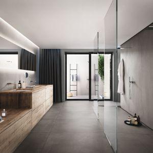 Płytki ceramiczne do łazienki w stylu loft: kolekcja Azuma marki Imola Ceramica. Fot. Imola Ceramica