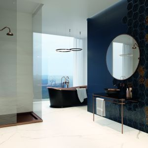 Płytki ceramiczne do łazienki w stylu loft: kolekcja Urban Colors marki Paradyż. Fot. Ceramika Paradyż