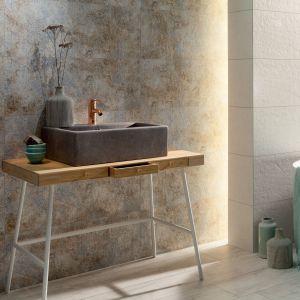 Płytki ceramiczne do łazienki w stylu loft:  kolekcja Interval marki Tubądzin. Fot. Tubądzin