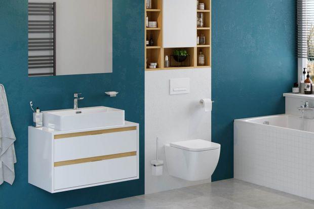 Strefa umywalki to newralgiczne miejsce w łazience - bardzo ważne zarówno dla estetyki całego wnętrza, jak i dla komfortu jego korzystania. Poznaj model szafki, która świetnie sprawdzi się w roli eleganckiego i praktycznego mebla.