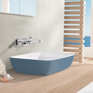 Kolorowa umywalka z serii Artis marki Villeroy&Boch. Fot. Villeroy&Boch