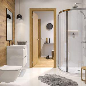 Aranżacja łazienki z kabiną prysznicową Geo. Fot. Koło