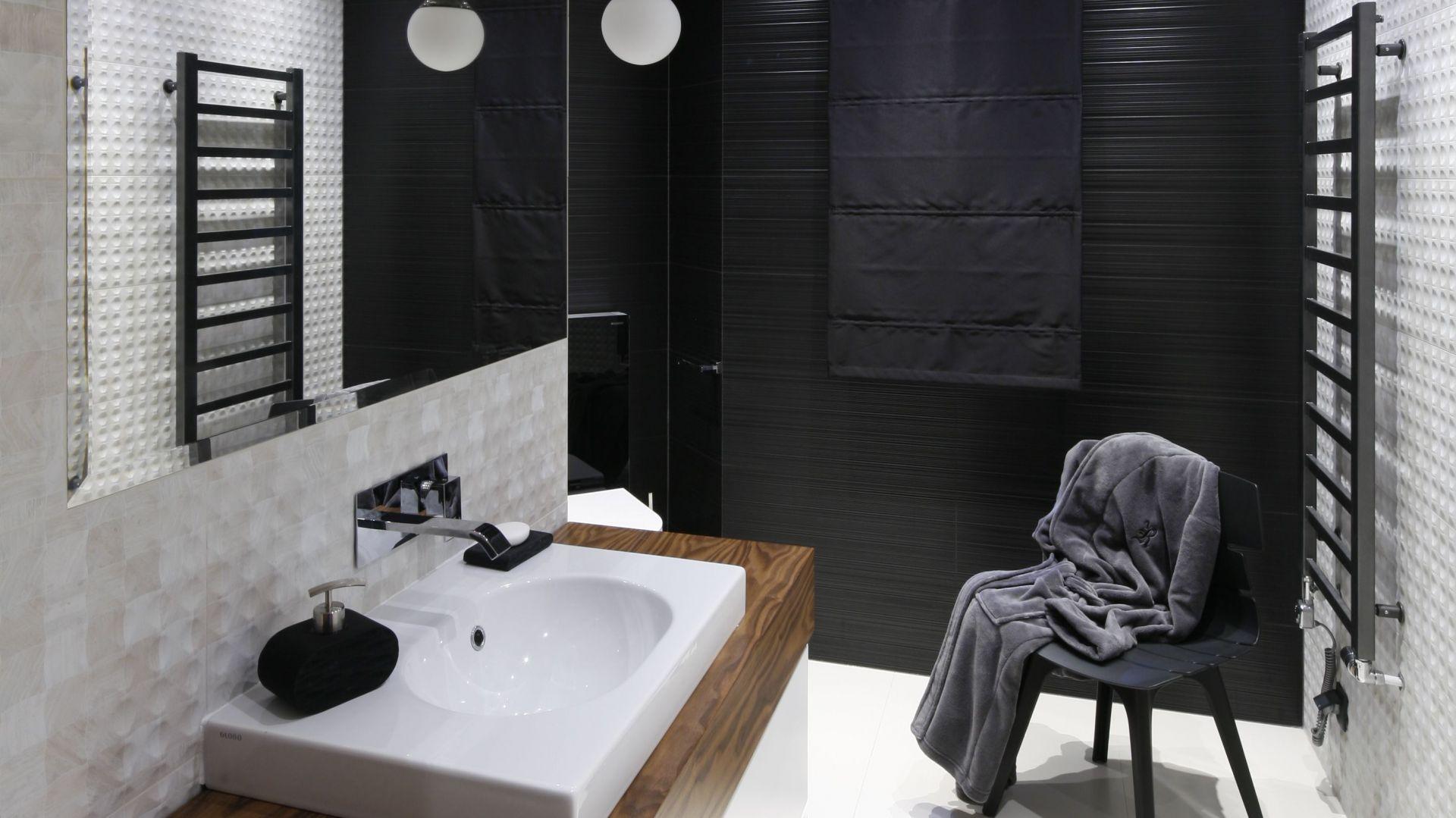 Pomysł na strefę umywalki. Proj. Jan Sikora. Fot. Bartosz Jarosz