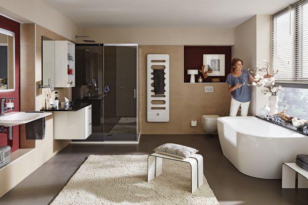 Urządzając łazienkę warto postawić na produktyz jednej, kompletnej serii, która pomoże stworzyć spójną wizualnie aranżację łazienki.