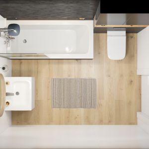 Aranżacja łazienki z kolekcją Modo. Fot. Koło