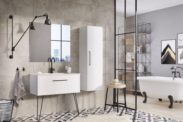 Meble łazienkowe na nóżkach to stylowy sposób na łazienkę. Zobacz propozycje producentów!