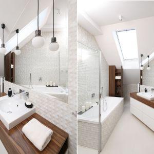 Pomysł na oświetlenie w łazience. Proj. Jan Sikora. Fot. Bartosz Jarosz